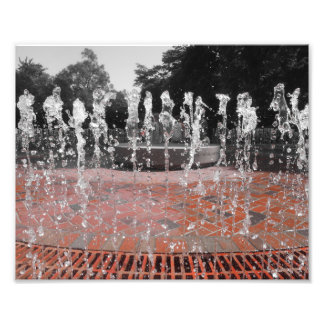 Frozen Water Photo Print