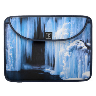 Frozen Waterfall MacBook Pro Sleeves