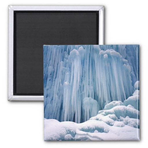 frozen waterfall magnet