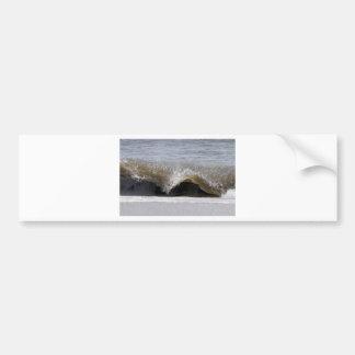 Frozen Wave Bumper Sticker