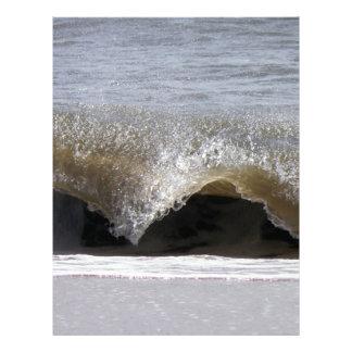 Frozen Wave Letterhead Design
