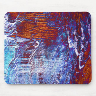 Frozen Waves Mouse Pad