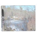 Frozen Wetlands Pond Dry-Erase Whiteboard