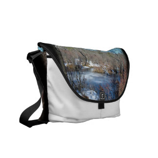 Frozen Wetlands Pond Commuter Bags