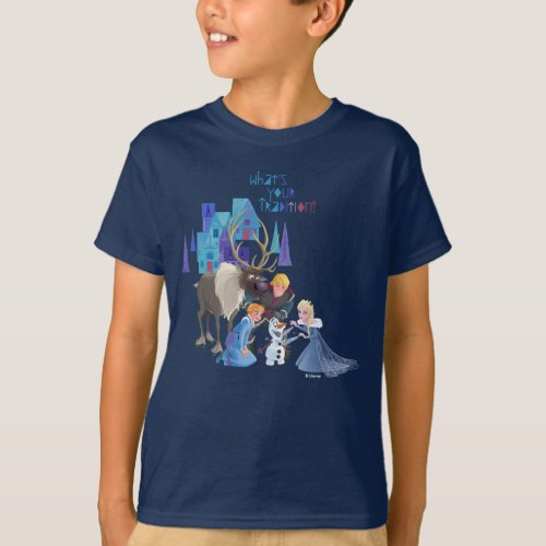 Frozen  Whats Your Tradition T_Shirt