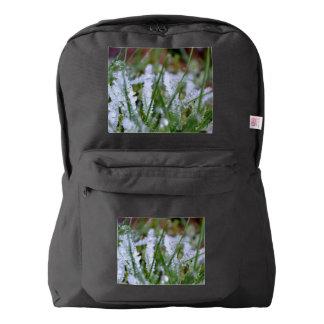 Frozen Winter Grass Backpack