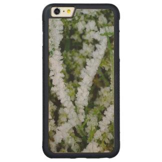 Frozen Winter Grass Carved Maple iPhone 6 Plus Bumper Case