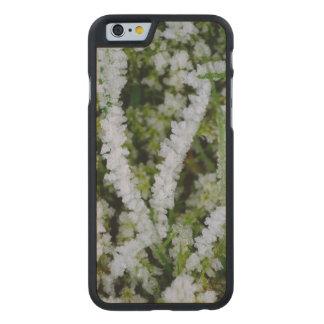Frozen Winter Grass Carved® Maple iPhone 6 Slim Case