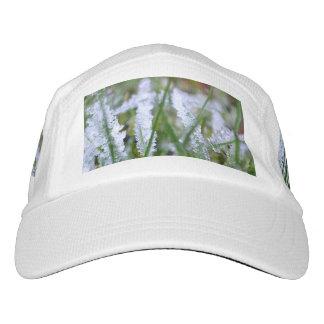 Frozen Winter Grass Headsweats Hat