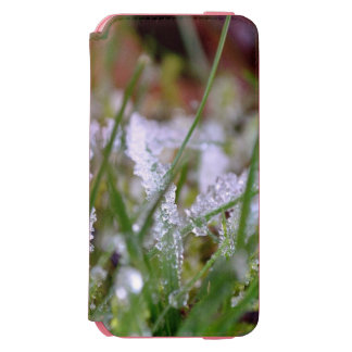 Frozen Winter Grass Incipio Watson™ iPhone 6 Wallet Case
