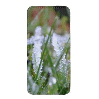 Frozen Winter Grass iPhone 5 Pouch