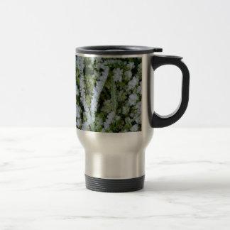 Frozen Winter Grass Coffee Mugs
