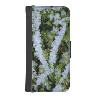 Frozen Winter Grass Phone Wallet Cases