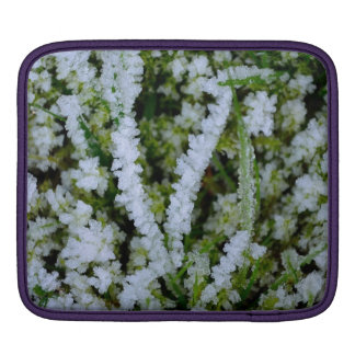 Frozen Winter Grass Sleeve For iPads