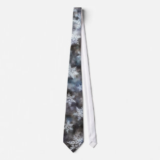 Frozen Winter Neck Tie