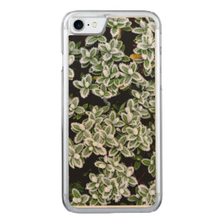 Frozen Winter Plants Carved iPhone 7 Case