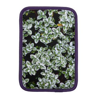 Frozen Winter Plants iPad Mini Sleeve