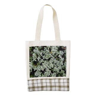 Frozen Winter Plants Zazzle HEART Tote Bag