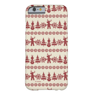 Frozen   Winter Wishes Pattern Barely There iPhone 6 Case