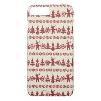 Frozen   Winter Wishes Pattern iPhone 8 Plus/7 Plus Case