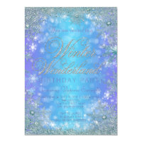 Winter birthday invitations announcements zazzle frozen winter wonderland birthday party filmwisefo Image collections