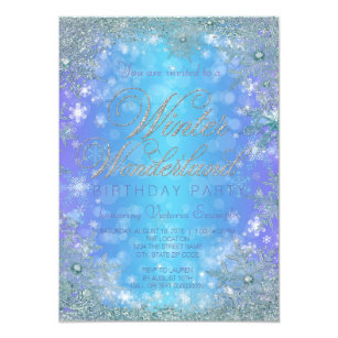Winter Wonderland Invitations Zazzle