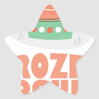 Frozen Yogurt Day - Appreciation Day Star Sticker