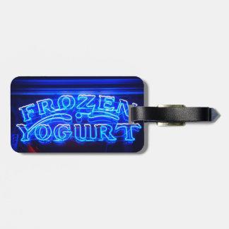 Frozen Yogurt in Florence Bag Tag