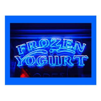 Frozen Yogurt in Florence Postcard