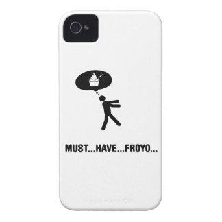 Frozen yogurt lover iPhone 4 case