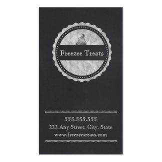 Frozen Yogurt Loyalty Business Card