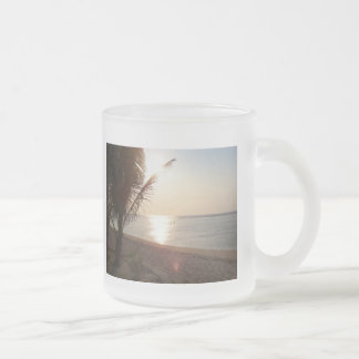 Frozted Clasical Mug - Panoramic Sunset..