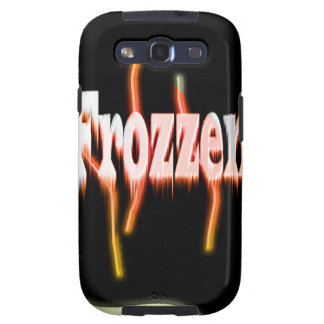 Frozzen on fire frozen samsung galaxy SIII cases