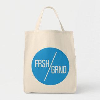 FRSHGRND Coffee Culture Tote Bag - Blue