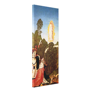 Frueauf d J Rueland - Discovery of the veil Stretched Canvas Print