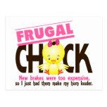Frugal Chick Postcard