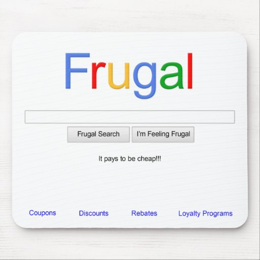 Frugal Mouse Pads