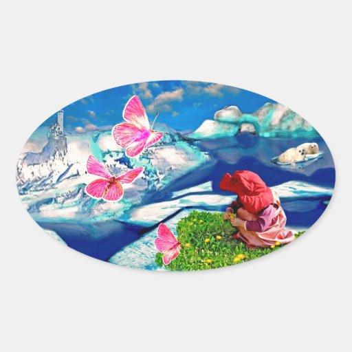 Frühling am Nordpol Stickers