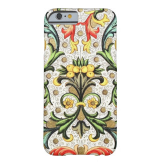 Fruit And Floral Vintage Colorful Design Barely There iPhone 6 Case