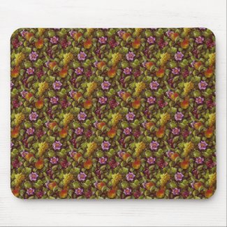 Fruit and Flowers Mouse Pads