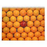 Fruit and Food Calender 14 Calendar