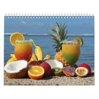 Fruit and Food Calender 4 Calendar