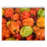 Fruit and Food Calender 5 Calendars