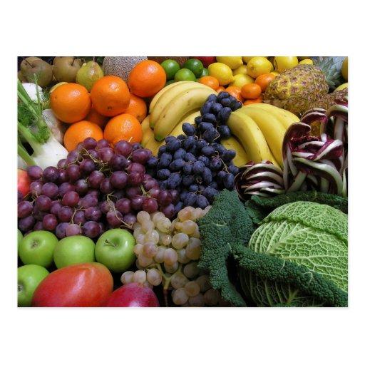 Fruit and Food Postcard 26