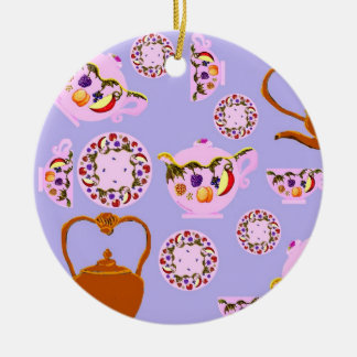 Fruit And Leaves Tea Ornament