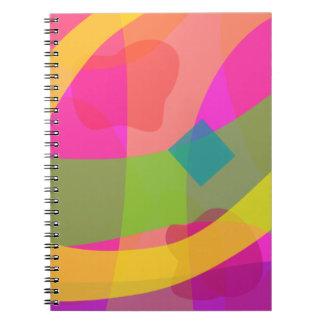 Fruit and Light Spiral Notebook