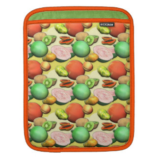 Fruit and Melons iPad Sleeve