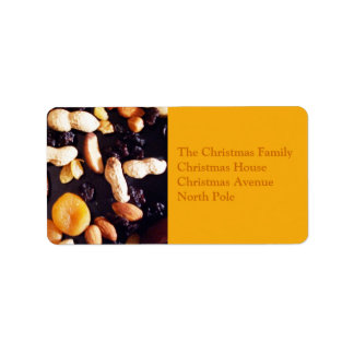 Fruit and Nut Label