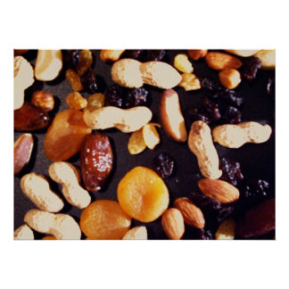 Fruit and Nut Print