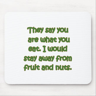 Fruit And Nuts Mouse Mat